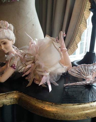 Bohemian Lying fairy doll