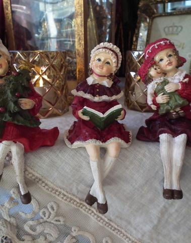 3 zittende kinderen