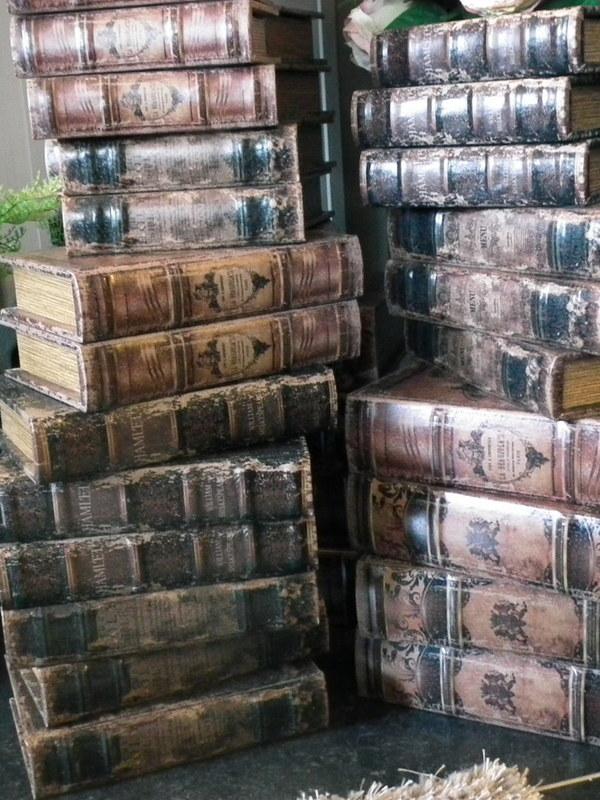 Boeken dozen & koffers & boxen